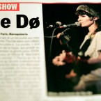 Publication les Inrocks avec The Do