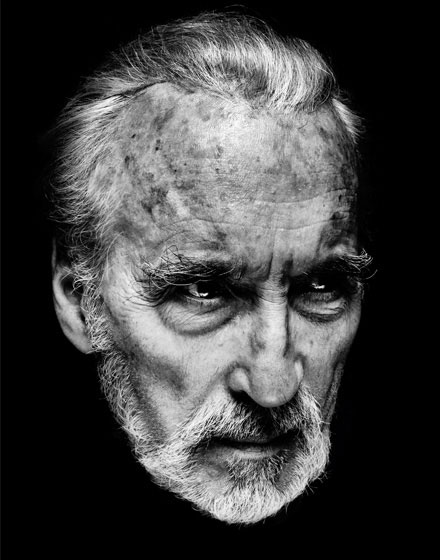 Série Portraits - Christopher Lee