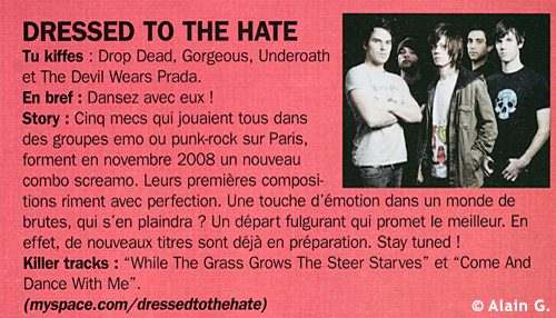 Dressed To The Hate - Publication Rock One