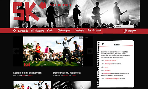 Soul Kitchen webzine
